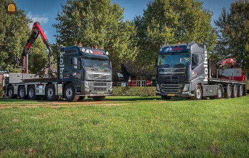Volvo vrachtwagen voor Kolbe Dalfsen