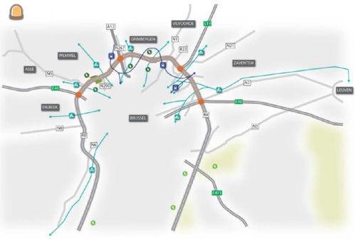 Sweco Belgium en Arcadis bundelen krachten voor Brusselse Ring