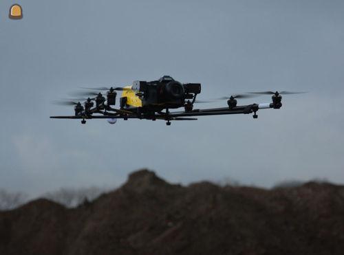 Voorstelling dronecluster EUKA op werf heraanleg R4