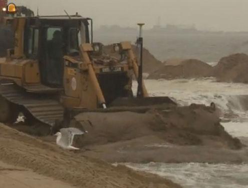 1,2 miljoen kubieke meter zand om stormschade te herstellen