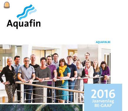 Aquafin bracht in 2016 voor recordbedrag nieuwe projecten op de markt