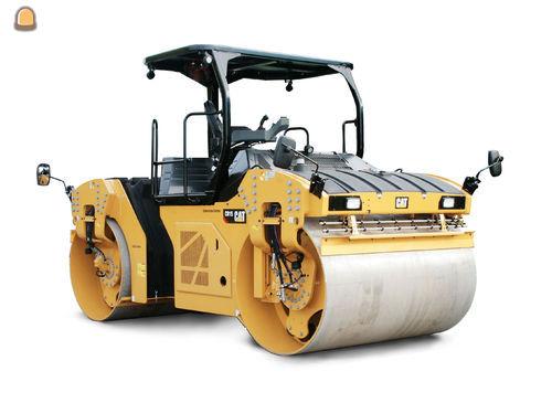Caterpillar voegt een nieuwe productieklasse tandemtrilwalsen toe aan de serie asfaltmachines.