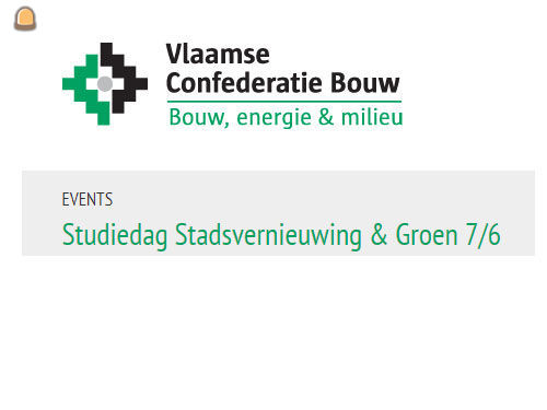 Studiedag Stadsvernieuwing & Groen