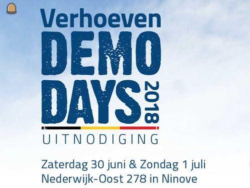 Verhoeven Demo Days Ninove
