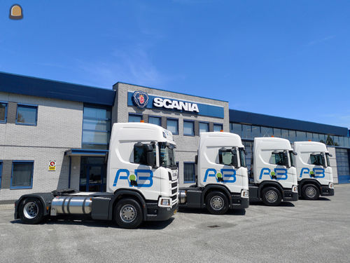 AB Transport Group verduurzaamt wagenpark met Scania LNG