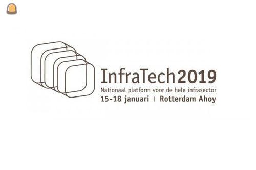 Vakbeurs InfraTech van 15 t/m 18 januari in Rotterdam