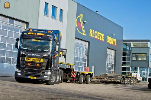 Te Kloeze-Bruyl koopt Scania V8 zwaar transport trekkers.