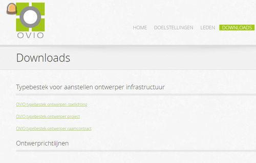 OVIO typebestek voor aanstellen ontwerper infrastructuur