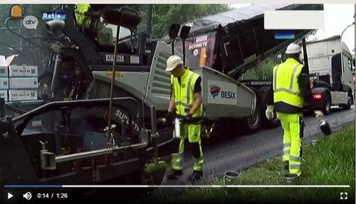BESIX Infra draagt bij tot de aanleg van duurzame wegen