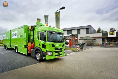 SUEZ, HAVI en Scania slaan handen ineen voor verduurzaming van de logistiek bij McDonanlds