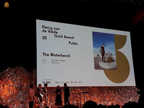 The Waterbench wint nu ook Henry van de Velde publieksprijs