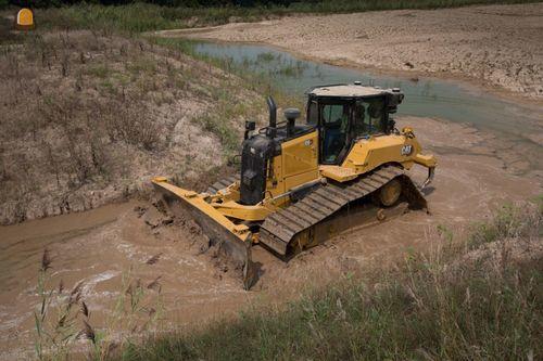 Nieuwe Cat® D5, D6 en D6 XE bulldozers bieden superieure prestaties