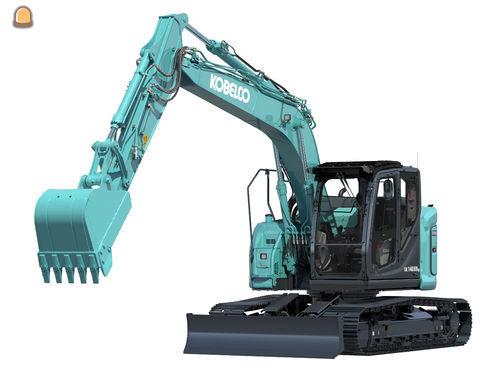 Nieuwe Kobelco SK140SRLC-7 levert uitzonderlijke prestaties en bestuurderscomfort.