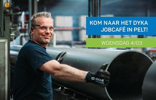 DYKA organiseert Jobcafé op woensdag 4 maart