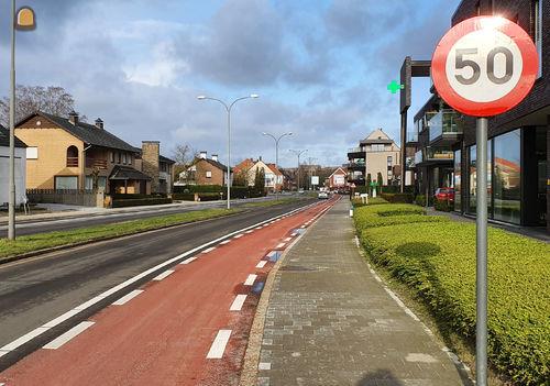Gemeente Pelt uiterst tevreden over de herinrichting van een veilige Ringlaan door Hoogmartens NV