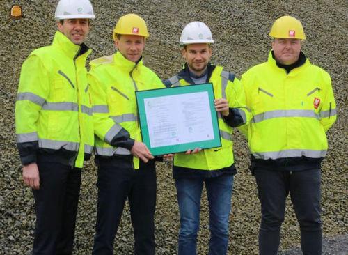 Eerste certificaat voor tussenopslag puin en gerecycleerde granulaten voor AC Materials