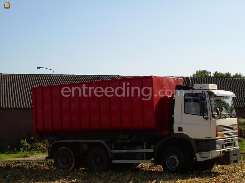 Kippervrachtauto Ginaf 3335-S Containerauto