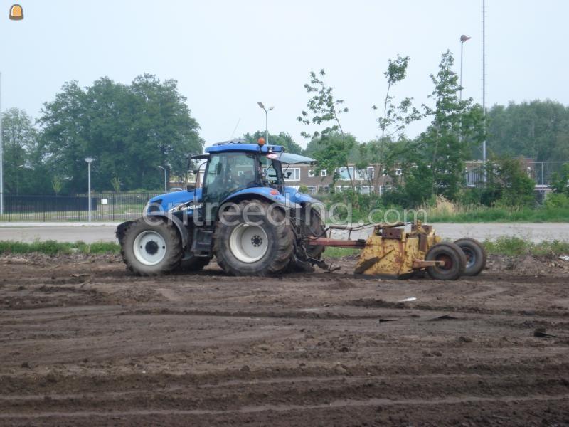 Tractor + kilver NH + Kilver