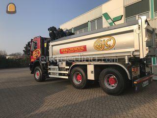 IVECO 6x6 Kraanauto Omgeving Venlo
