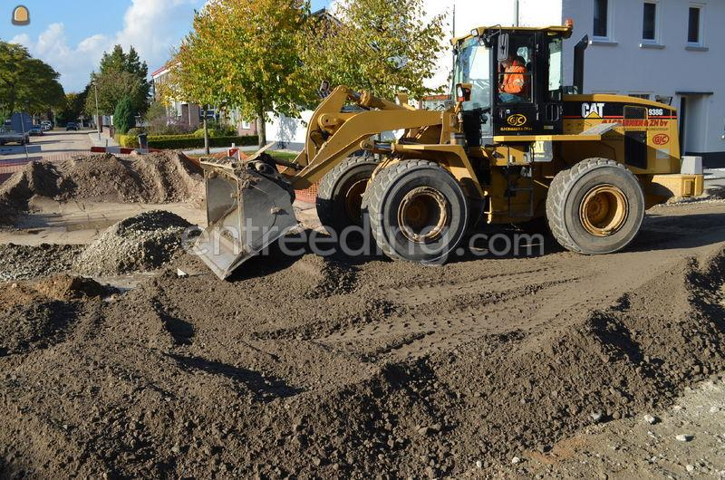 Wiellader / Shovel Cat 938 GII