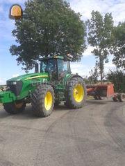 Tractor + kilver Omgeving Goes