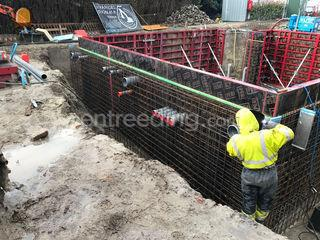 kelderbouw, betonconstruc... Omgeving Antwerpen
