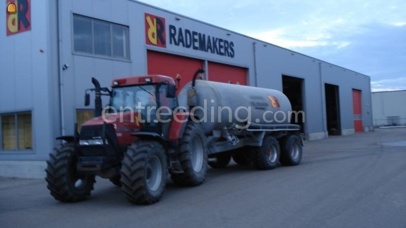 Tractor + waterwagen Waterwagen