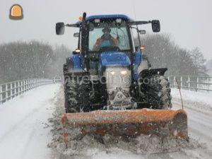 Sneeuwschuiven Omgeving Venlo