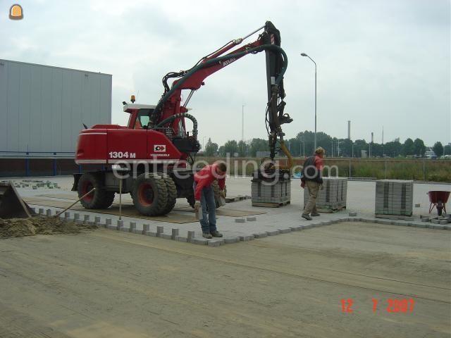 Projecten / werken machinaal straatwerk