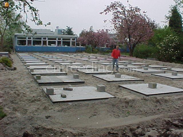 Projecten / werken prefab fundatie voor Unitbouw