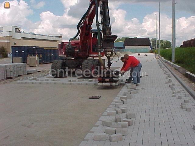 Verhardingswerken / bestratingen machinaal straatwerk