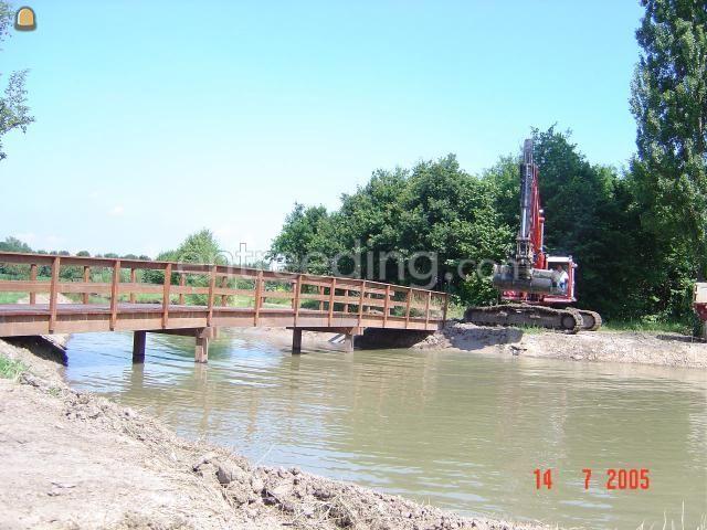 Projecten / werken Beschoeiing - bruggen