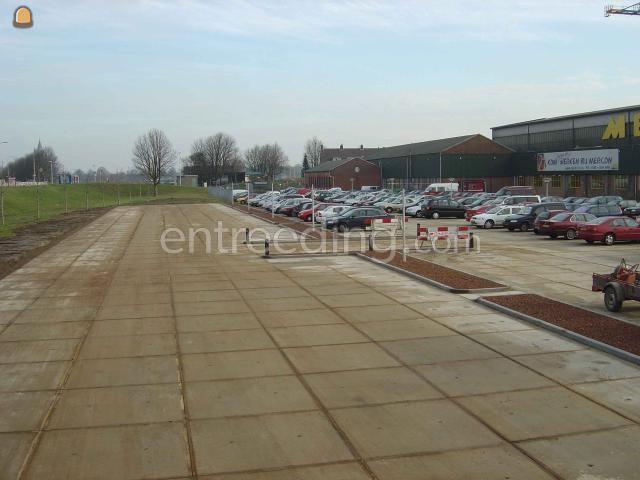 Projecten / werken Parkeerplaats MERCON