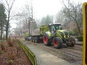 Tractor + kipper Claas 820 + Jako Tiger 320SK