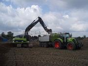 Tractor + kipper Claas 840 + Jako Tiger 320 SK