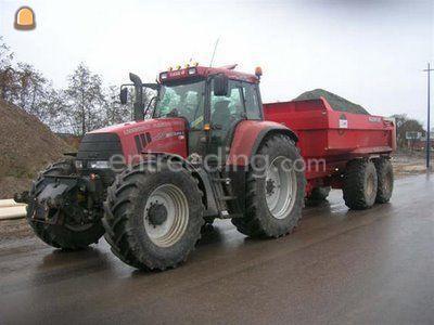 Tractor + kipper CVX 150 + Beco maxxim 240