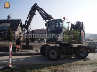 Terex TW85 Omgeving Amersfoort