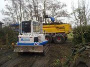 Groenaanleg, onderhoud en omgevingswerken bomen en struiken omzagen/rooien  en afvoeren