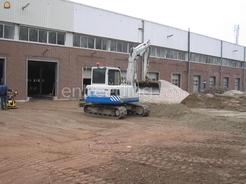 Op-/ afbraakwerken / sloopwerken dockshelters slopen