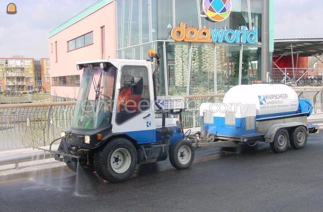 Waterwagens LM track + watertank tbv reiniging