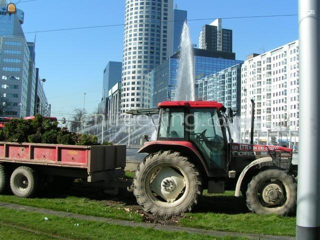 Tractor Ford 6610 + kipper