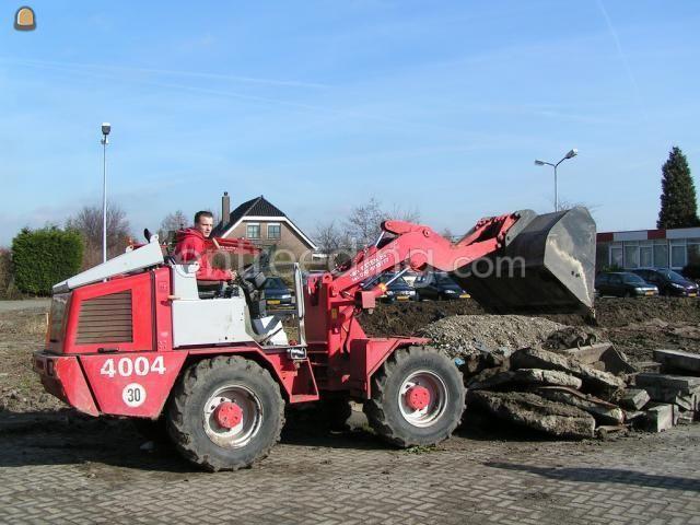 Wiellader / shovel Weideman 4004 (2x)