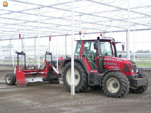 Tractor Fendt 412 + kiverbord-groot