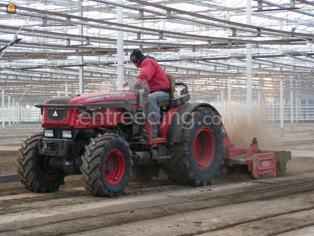 Tractor Trekker met roterkopeg