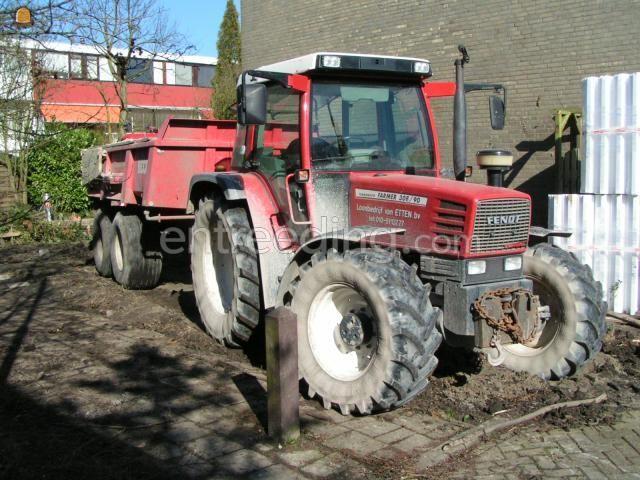 Tractor Fendt 308 (2x)