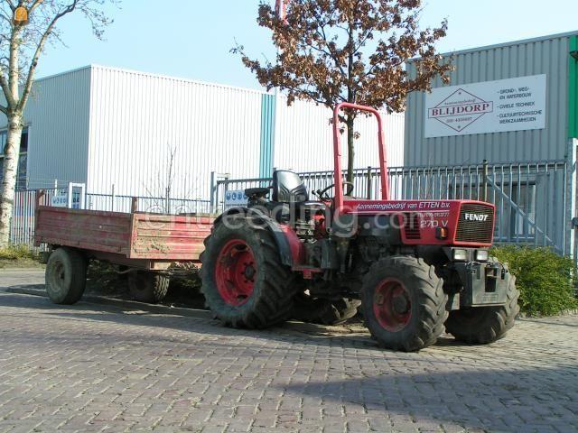 Tractor Trekker met kipper 2m3