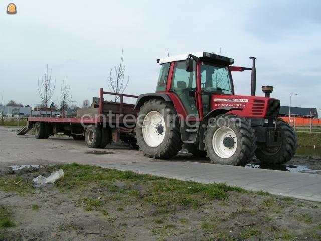 Tractor Trekker + platte kar