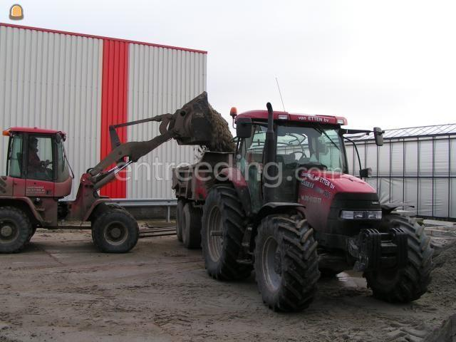 Tractor + kipper Case MX100