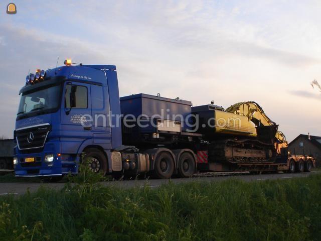Dieplader / oprijwagen MB Actros 2654