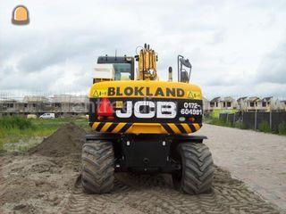 jcb 145 + Gps trimble Omgeving Alphen a/d Rijn